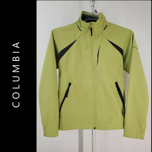 Columbia Woman Full Zipper Wind Breaker Jacket